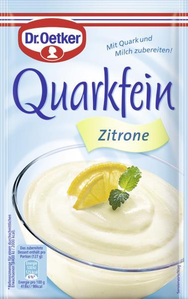 Dr. Oetker Quarkfein Zitrone