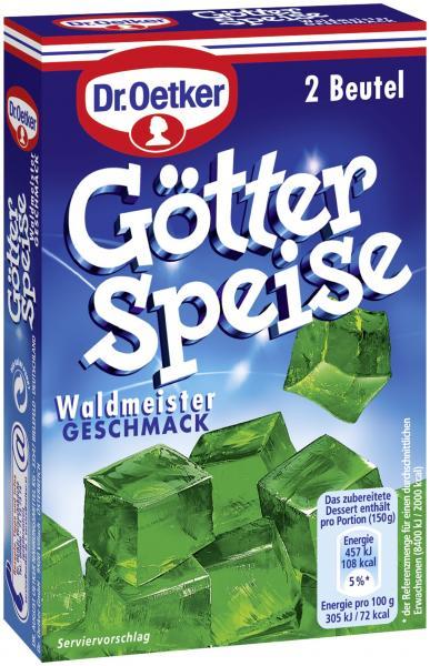 Dr. Oetker Götterspeise Waldmeister Geschmack