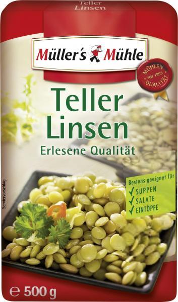Müller's Mühle Teller-Linsen