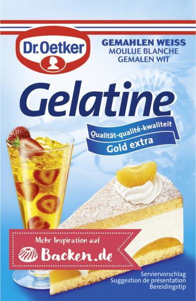 Dr. Oetker Gelatine gemahlen weiß