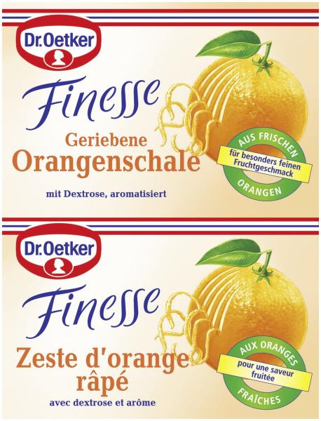 Dr. Oetker Finesse Geriebene Orangenschale