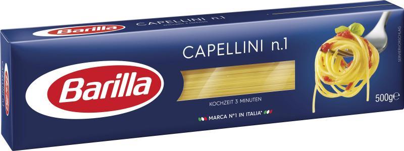 Barilla Pasta Nudeln Capellini No. 1