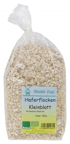 Mühle Erks Bioland Haferflocken Kleinblatt