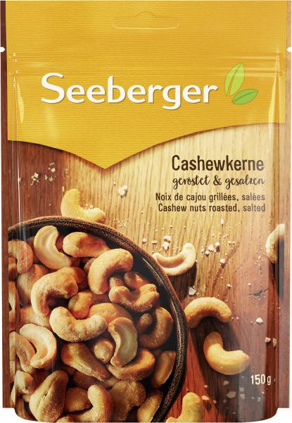 Seeberger Cashewkerne geröstet & gesalzen