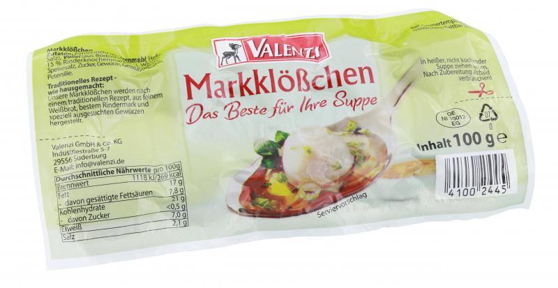 Valenzi Mark-Klößchen