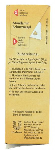 Mondamin Mehlschwitze hell