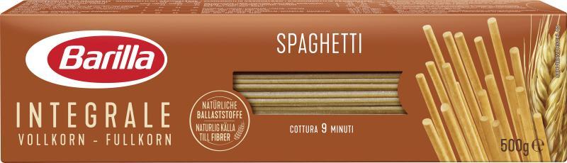 Barilla Pasta Nudeln Vollkorn Integrale Spaghetti No. 5