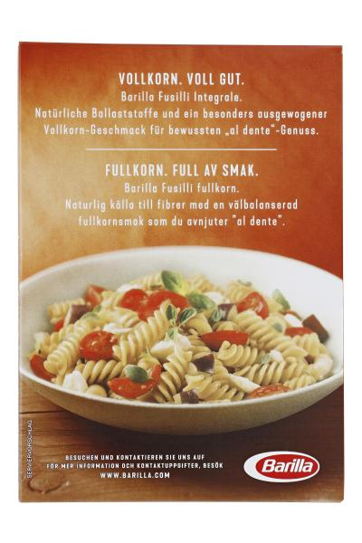 Barilla Pasta Nudeln Integrale Vollkorn-Fusilli