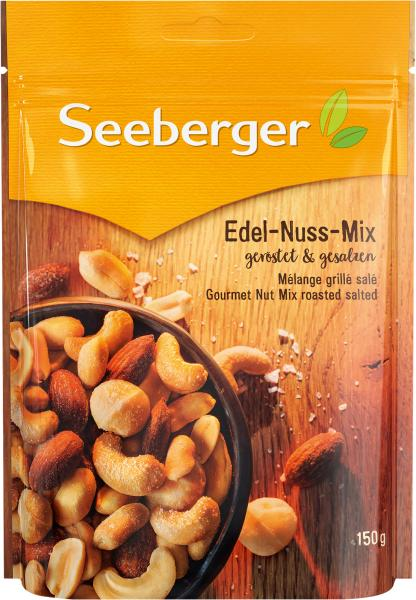 Seeberger Edel-Nuss-Mix geröstet & gesalzen