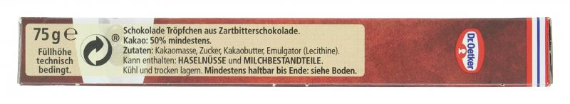 Dr. Oetker Schoko Tröpfchen