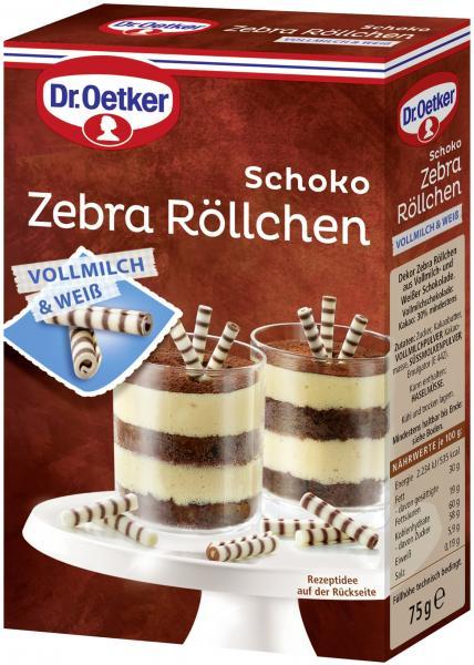 Dr. Oetker Schoko Zebra Röllchen Vollmilch & Weiß