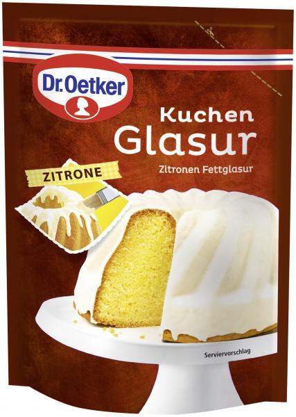Dr. Oetker Kuchen Glasur Zitrone