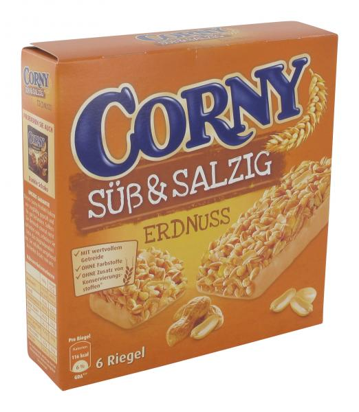 Corny Müsli Riegel süß & salzig Erdnuss