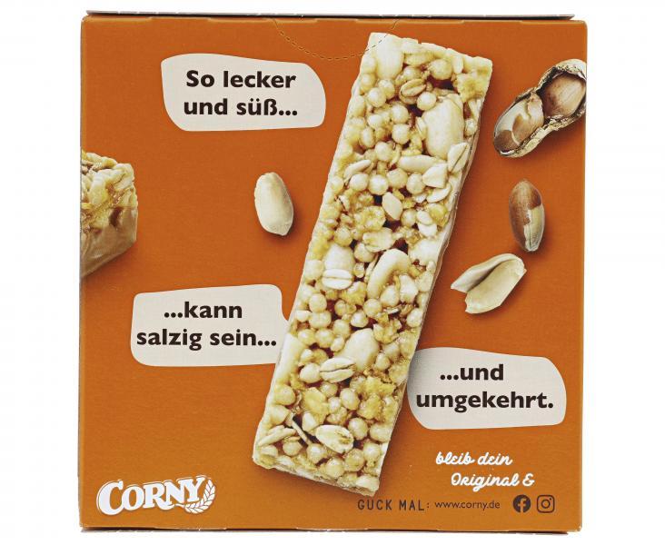 Corny Müsli Riegel Erdnuss süß & salzig