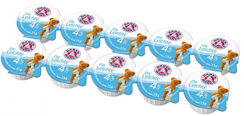 Bärenmarke Die Leichte 4% Portionspackungen