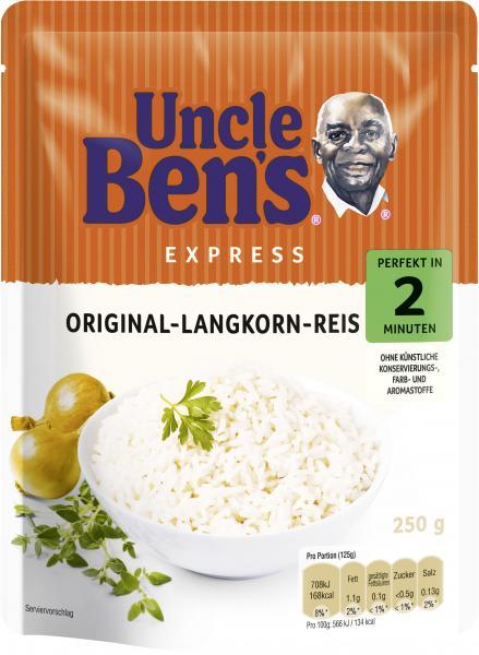 Uncle Ben's Express Spitzen-Langkorn-Reis