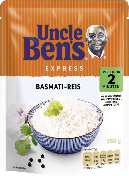 Uncle Ben's Express Basmati-Reis