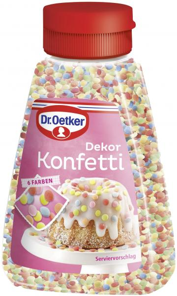 Dr. Oetker Dekor Konfetti