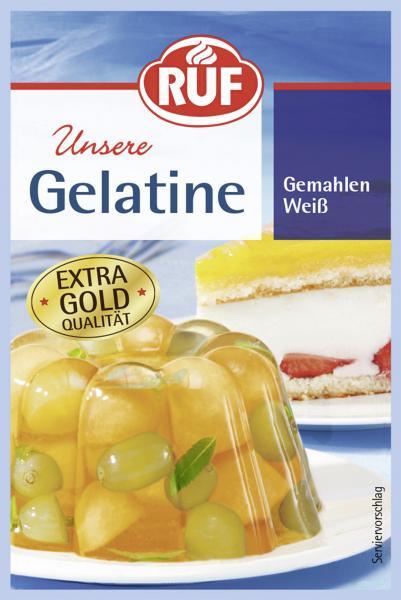 Ruf Gelatine gemahlen weiß