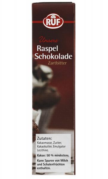 Ruf Raspel Schokolade Zartbitter