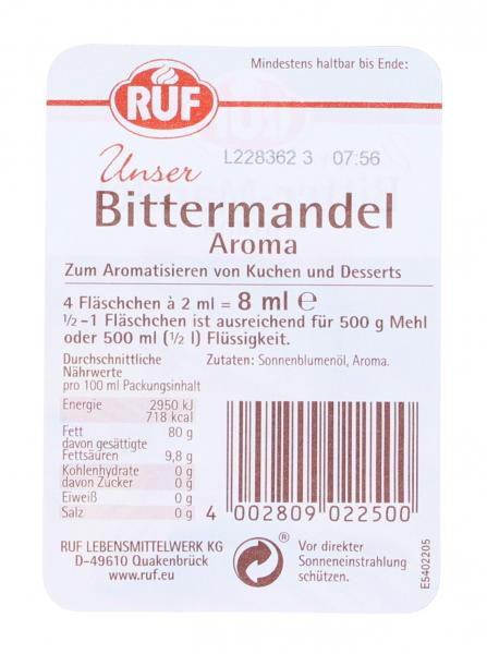 Ruf Backaroma Bittermandel