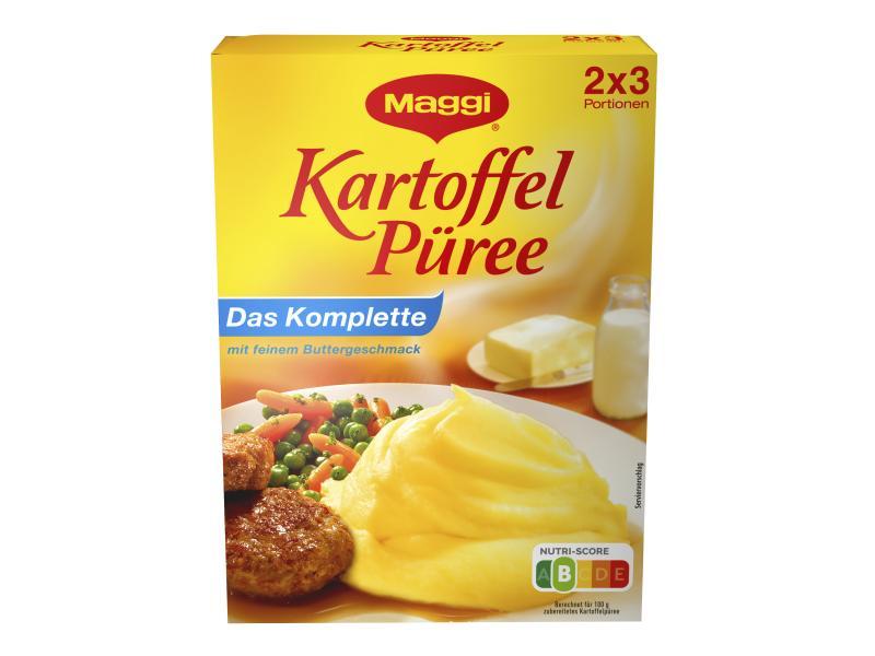 Maggi Kartoffel Püree, Das Komplette, mit feinem Buttergeschmack