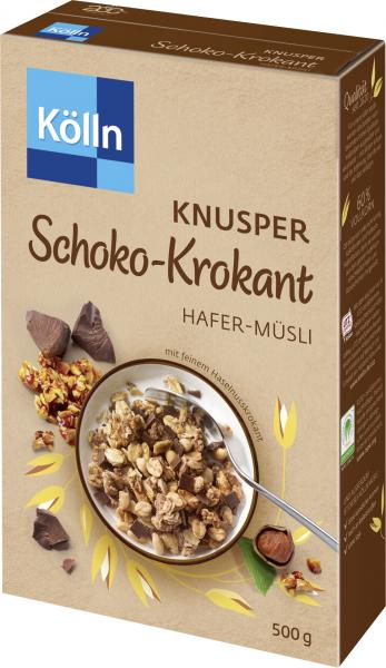 Kölln Knusper Schoko-Krokant Hafer-Müsli