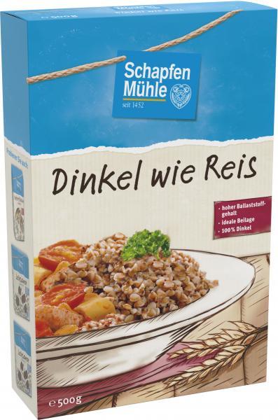SchapfenMühle Dinkel wie Reis