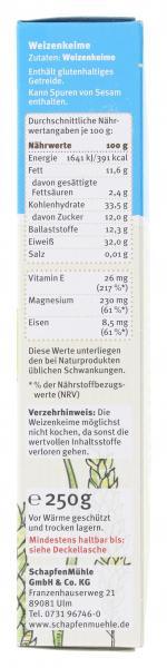 Schapfenmühle Weizenkeime premium