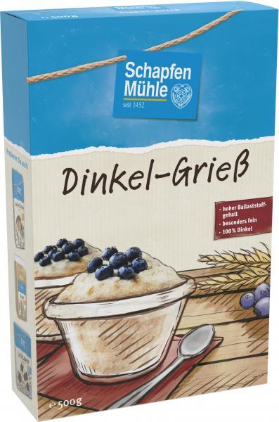 Schapfenmühle Dinkel-Grieß