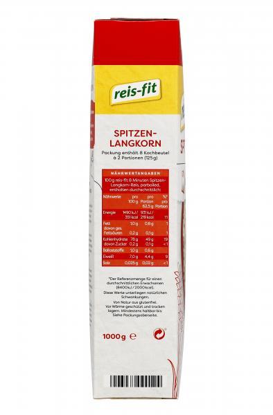 Reis-fit 8 Minuten Spitzen-Langkorn-Reis parboiled