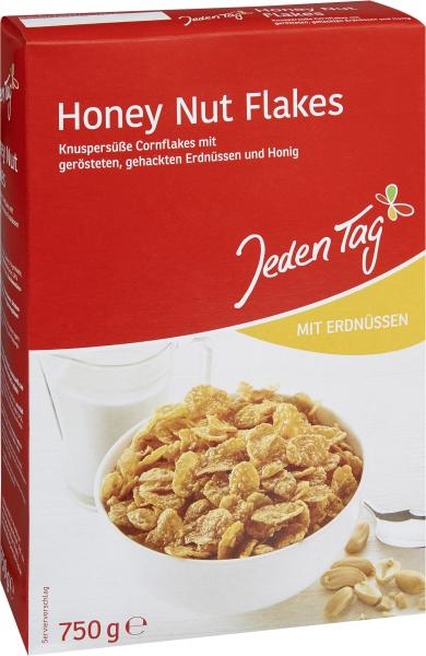 Jeden Tag Honey Nut Flakes