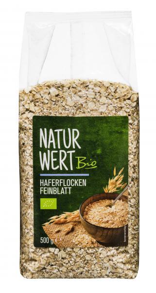 NaturWert Bio Haferflocken Feinblatt