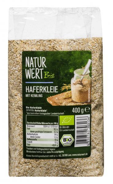 NaturWert Bio Haferkleie