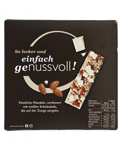 Corny Nussvoll Mandel & weiße Schokolade