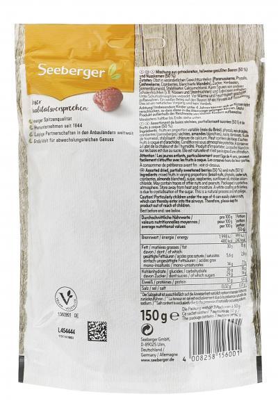 Seeberger Beeren-Nuss-Mix fruchtig-herb