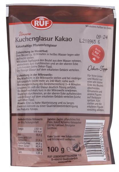 Ruf Kuchenglasur Kakao Online Kaufen Bei Mytime De