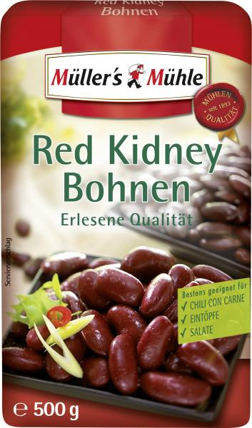 Müller's Mühle Red Kidney Bohnen