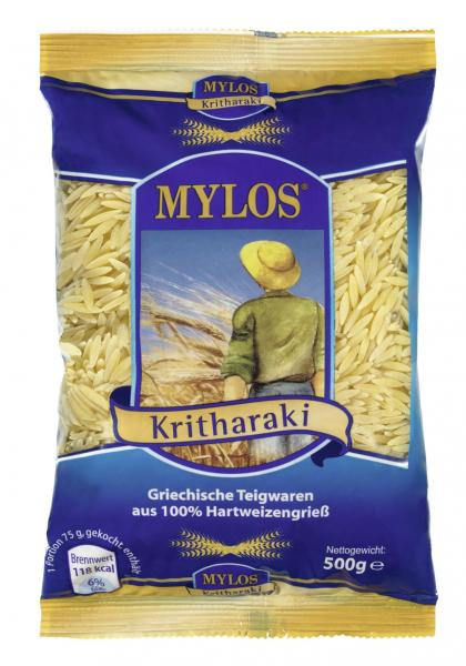Mylos Kritharaki Griechische Teigwaren aus 100% Hartweizengrieß