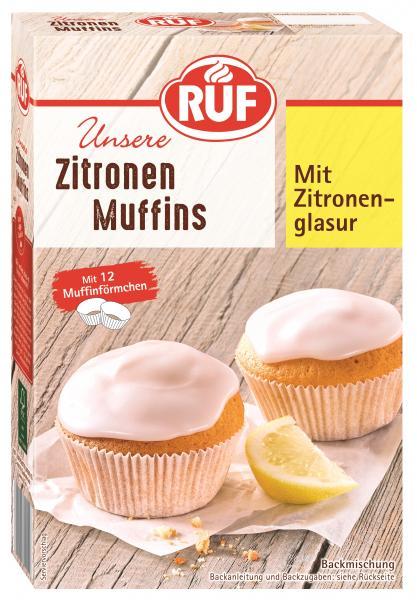 Ruf Muffins American Style Zitrone