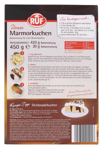 Ruf Marmorkuchen