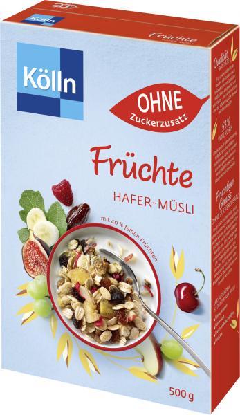 Kölln Früchte Hafer-Müsli Ohne Zuckerzusatz
