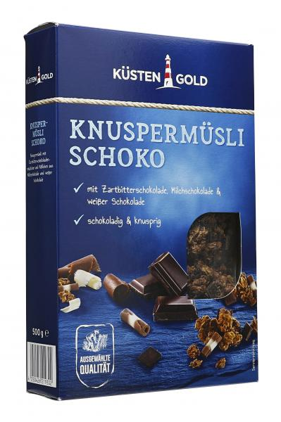 Küstengold Knuspermüsli Schoko