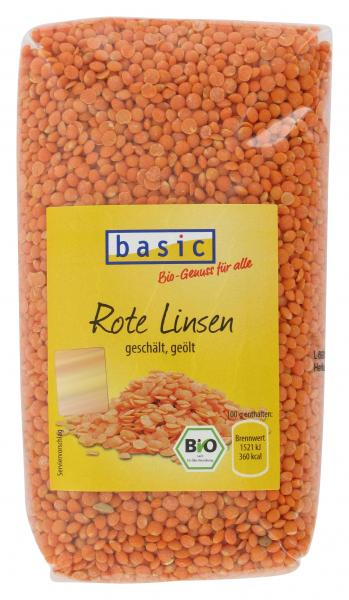 Basic Rote Linsen