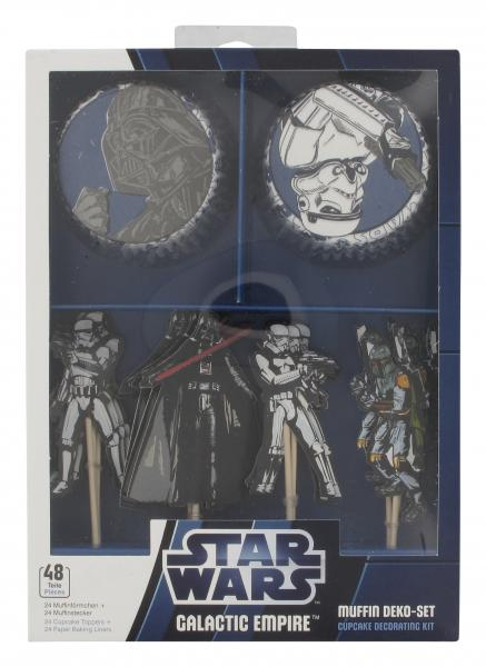 Dekoback Muffin Deko-Set Star Wars
