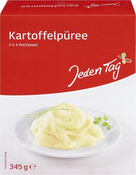 Jeden Tag Kartoffelpüree