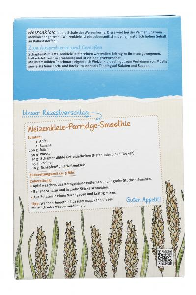 Schapfenmühle Weizenkleie premium