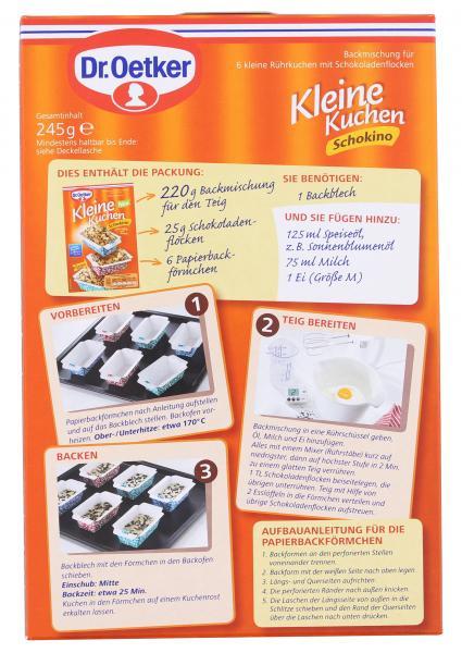 Dr Oetker Kleine Kuchen Schokino Online Kaufen Bei Combi De