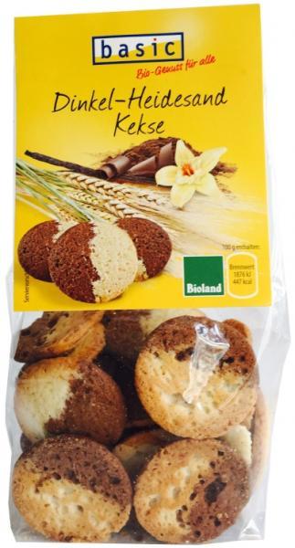 Basic Dinkel-Heidesand Kekse
