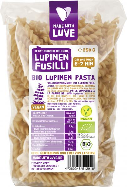 Made with Luve Lupinen Fusilli